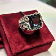 Ring Maria E Luisa Jewels Woman Aa00001/bl_0 Silver Silver Topaz