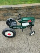 Wow Vintage Pedal Car Tractor Ford Amf Engine Big 4 538 Rare Motor Clean