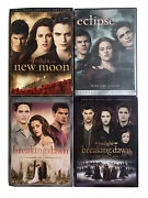The Twilight Saga Dvd Collection, New Moon, Eclipse, Breaking Dawn Part 1and2