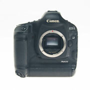 As-is Canon Eos-1d Mark Iv 16.1mp Digital Slr Camera Body 3822b002 Battery Issue