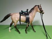 Hand Crafted Leather Saddle And Tack Classic Breyer Horse Models 112 Scale