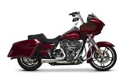 Two Brothers Racing 07-16 Road-street-glide Black Shorty Turnout Exhaust