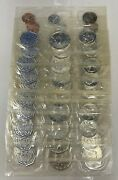 10x 1964 United States Silver Proof Set Lot Of 10