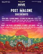 Hive Music Festival Post Malone Suicide Boysandnbsp 2 Tickets Both Days
