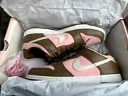Nike Dunk Low Pro Sb Cherry Stussy Pink 304292 671 Size Us 11.5 Dead Stock