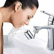 Waternymph Faucet Aerator 720-degree Angle Rotate And Swivel Dual-function Kitch