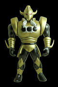 Out Of Print Kin Meat Man Five Starty Devil General Gold Costume 28.5 Cm Bambang