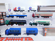 Cr29-1 6x Herpa H0 / 187 Trucklight Defects / Good Mb+ Volvo +renault+ Man +