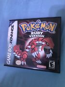 Pokemon Ruby Version Authentic Dry Battery With Box - Gameboy Advance - Used