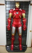 Life-size Iron Man 3d Wall Figure Mark Hall Of Armor Kanto Region Limited Direct