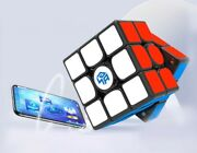 Magnetic Gan356 M 3x3x3 Stickerless Magic Cube Educational Toys For Kids
