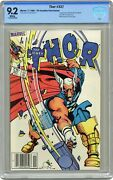 Thor Canadian Price Variant 337 Cbcs 9.2 1983 1st App. Beta Ray Bill