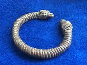 Silver Norse Arm Ring/ Ram Head Terminals