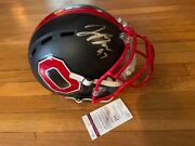 Joey Bosa Chargers Ohio State Full Size Eclipse Authentic Helmet Signed Jsa