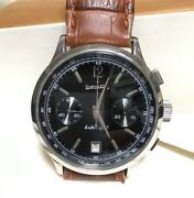 Eberhard Extra-fort Watch Chronograph Genuine 39mm Made In Switzerland F/s