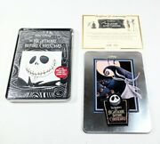 Disney The Nightmare Before Christmas Dvd Limited Series Collectible Tin New