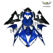 Ms Black Blue Injection Mold Abs Fairing Fit For Yamaha Yzf R1 2004-2006 J048