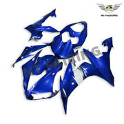 Ms Blue Injection Mold Abs Fairing Bodywork Fit For Yamaha Yzf R1 04-2006 J038