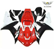 Us Fit For Yamaha R1 Yzf 2002-2003 Red Black Injection Mold Abs Fairing Kit J036