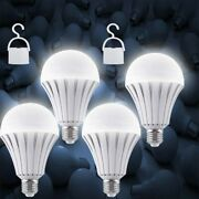 Emergency Bulbs Rechargeable Led Light With Battery Backup Led Bulb(4pack)