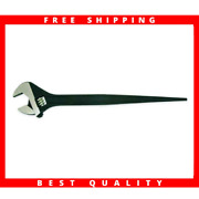 10 In. Adjustable Construction Wrench | Crescent Oxide Cresent Black Tools Spud