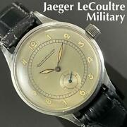 Jaeger Lecoultre 17 Stone Oh Finished Antique Hand-wound Vintage Menand039s Watch