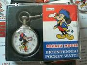 Bradley Mickey Mouse Pocket Watch 200th Anniversary Limited Japan