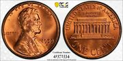 1959-d Lincoln Memorial Cent 1c Pcgs Ms-64rd Undergraded Should Be 67+