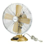 12-inches Retro Table Fan Cooling 3 Speed Quiet Home Office ,free Shipping