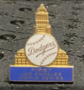 1959 Los Angeles Dodgers World Series Balfour Press Cuff Link. First Ws In L.a.