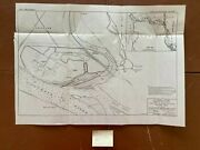 1940 Columbia River Old Mouth Cowlitz River Army Engineering Sketch Map