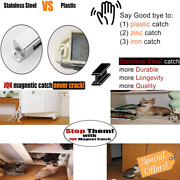 Jqk Magnetic Door Catch, Heavy Duty Magnet Latch Cabinet Catches For Cabinets Sh