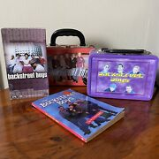 Backstreet Boys Lot - 2 Lunchboxes, For The Fans Vhs, Book