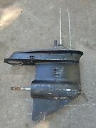 Johnson Evinrude Outboard 70hp Lower Unit 15in 3cyl 4 Spline Shaft 1979