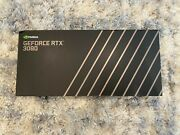 Nvidia Geforce Rtx 3080 10gb Gddr6x Founders Edition - In Hand New And Sealed