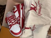 Louis Vuitton Trainer Lv 7 Product Red