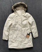 Nwt The Downtown 550 Fill Down Parka Vintage White Size Medium M 299