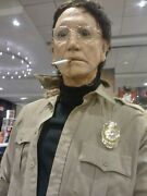 Jaws Chief Brody Roy Scheider Life Sized Prop Statue Comic Con Horror Figure