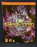 Vntg Star Ocean The Second Story Prima Official Strategy Guide Ps1 1999