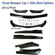 Car Front Bumper Lip Chin Spoiler Wing Body Fit For Honda Civic,benz,bmw Pointed