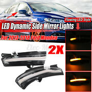 2x Dynamic Led Side Mirror Turn Signal Light Indicator For Ford Mondeo 2013-2018