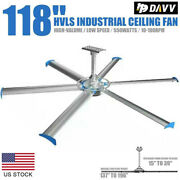 Big Air Industrial Indoor/outdoor Ceiling Fan Hvls 6 Speed Durable High Quality