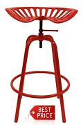 Tractor Seat Swivel Stool Solid Steel Construction Powder Coated Finish 100 New