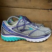 Brooks Ghost 7 Running Shoes Lace Up Low Top 1201611b953 Women's Size 10d Wide