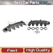 Left Right Exhaust Manifold Dorman - Oe Solutions Fit Ford 2007-2017 2 Pcs