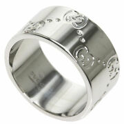 Ring Icon Ring Wide 12 K18 White Gold