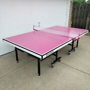 Brunswick Smash 7.0 Pink Ping Pong Table Tennis Local Pick Up Only Chicago Land
