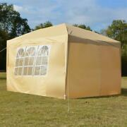3 X 3m 2 Doors And Two Windows Practical Waterproof Right-angle Folding Tent Khaki