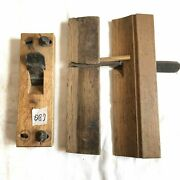 Kanna Japanese Lots Of 3 Vintage Plane Carpentry Woodworking Tool 1530mm D