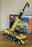 Lego Technic 42009 Mobile Crane Mk Ii With Instructions And Box, Rare